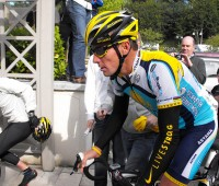 Lance Armstrong. Photo: brassynn
