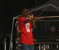 Tinchy Stryder previously performed at the Engine Shed in July 2010. Photo: Neal Whitehouse Piper