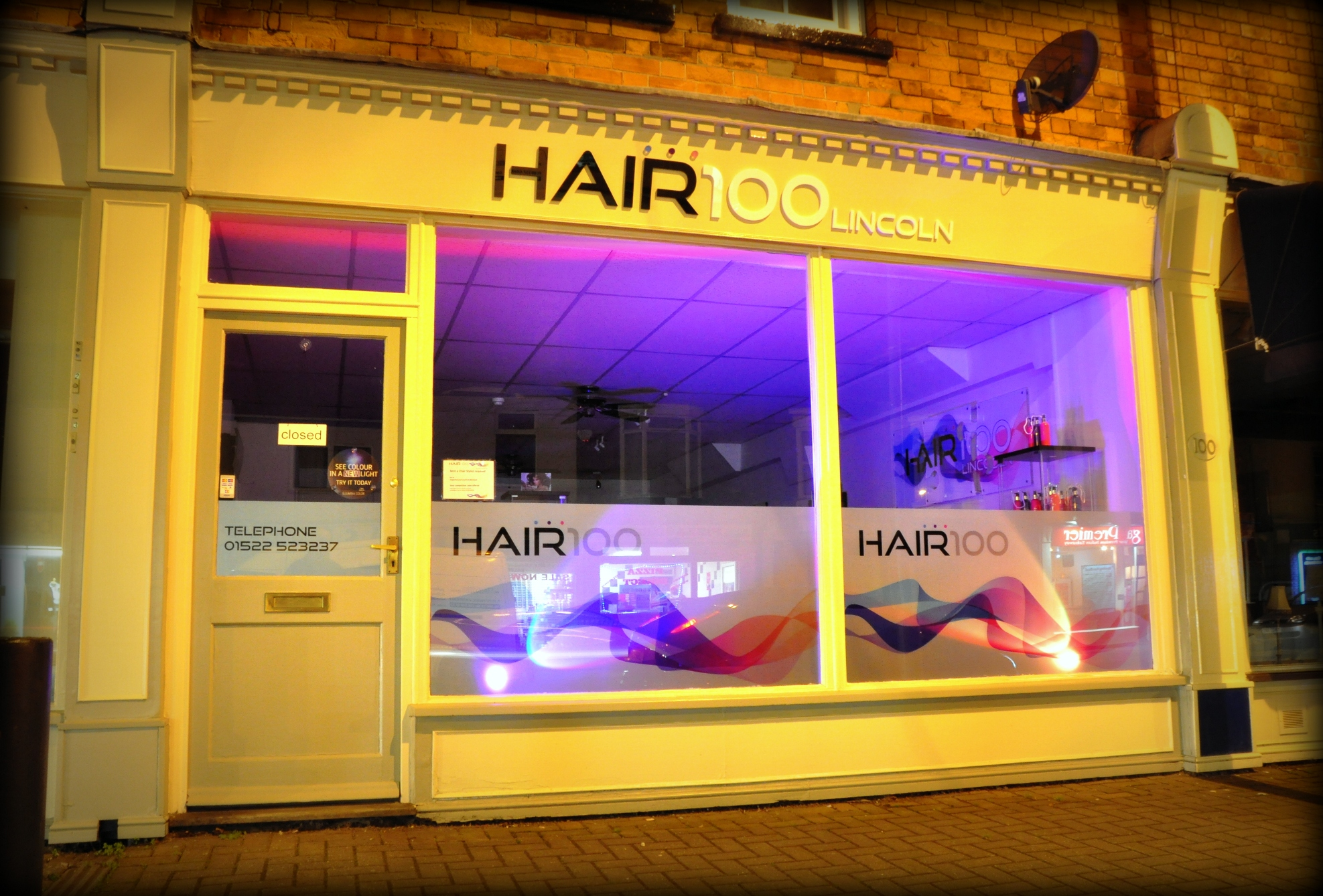 Hair 100 lincoln is a new hair salon to open on burton for A cut above the rest salon