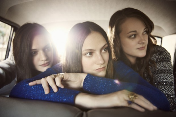 The Staves are a group of sisters who harmonise to folk rock sounds. Photo: Atlantic Records