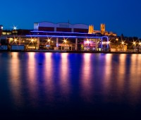 The Brayford Waterfront is the location of many chain restaurants, but th Photo: Luke Pennington (via Flickr)