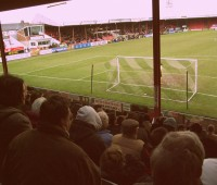 Grimsby Town and Lincoln City met for the second time in a week as  Blundell Park. Photo: marianthipop (via Flickr)