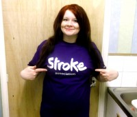 University of Lincoln student Molly Smith is raising money for the Stroke Association by completing a white water rafting challenge. Photo: Molly Smith