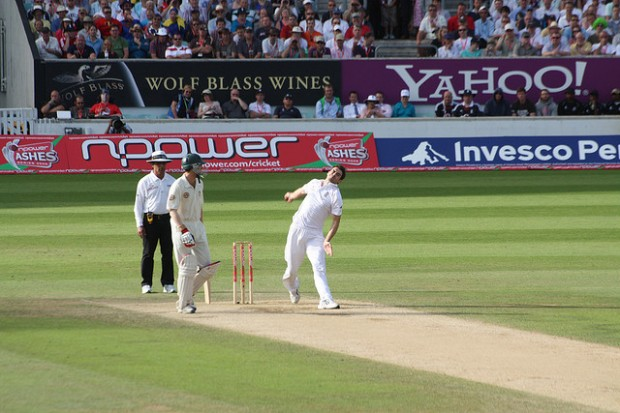 England on the way to victory in the first test. Photo: gingerchrismc (via Flickr)