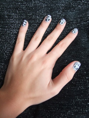 Barry M's Black Nail Effects Crackle Photo: Rebecca Roe