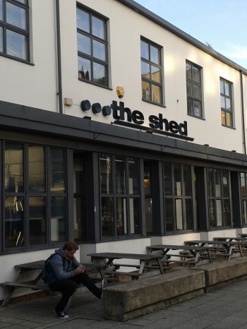 Cafe Scientifique will be taking place at the Shed (pictured above). Photo: Paul Battison