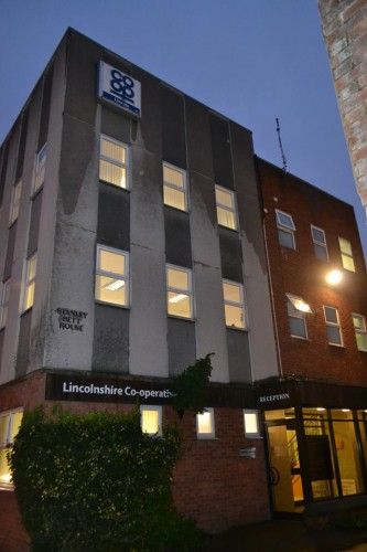 The Lincolnshire Co-operative building. Photo: Gregor Smith