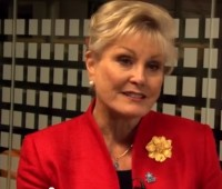 Angela Rippon. Photo: Alzheimer's Society