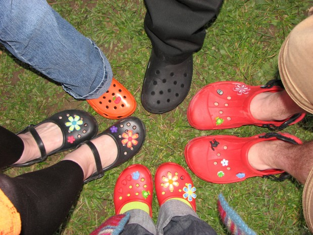 Crocs - a hit or miss in the fashion world. Photo from wikipedia.