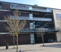 The University of Lincoln's Main Admin Building
