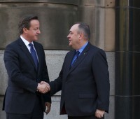 Photo of Cameron and Salmond