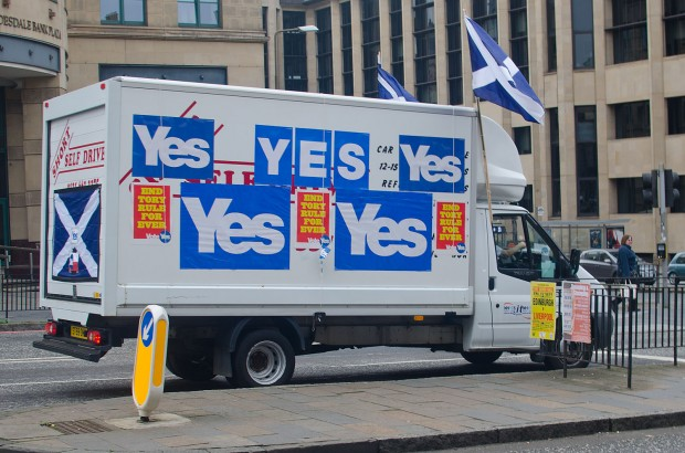 The yes campaign is focusing on being visible on the street on this last day of campaigning.