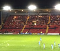 544 students from the City watched Lincoln vs Gateshead in September
