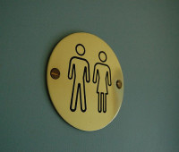 If the bid by Lincoln's transgender students are successful, unisex toilets will be available on campus in the future. Photo: Adam Mulligan via Flickr