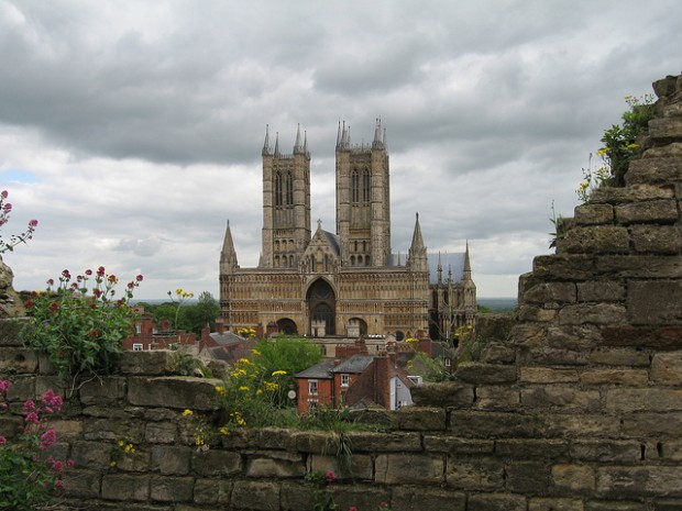 Lincoln Cathedral hosts one of only four remaining originals of the Magna Carta. In February you can be able to see them all together if you are chosen in a ballot.  Photo: Barnyz via Flickr