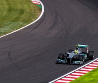 Which Mercedes driver will claim this year's title? Picture: Norimasa Hayashida (via Flikr)