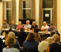 Residents of Lincoln's West End area voiced their concerns of students anti-social behavior at a meeting this week. Photo: Oliver Winston