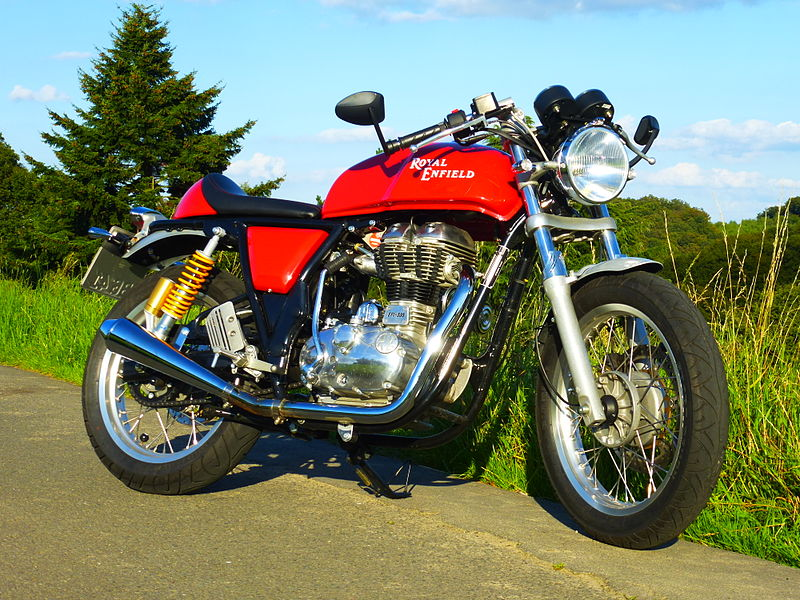 back in time the royal enfield continental gt 535 the linc. Black Bedroom Furniture Sets. Home Design Ideas