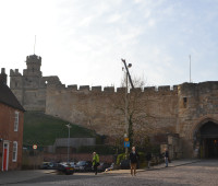 Lincoln Castle, March 2014