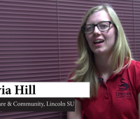 Olivia Hill, Welfare & Community at Lincoln Students' Union