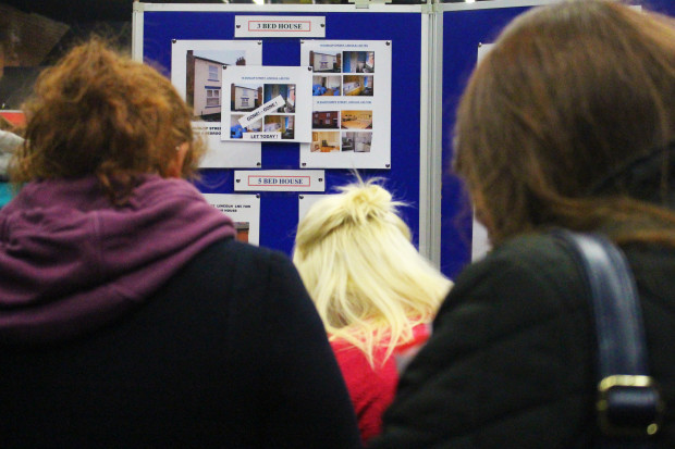 SU housing fayre display