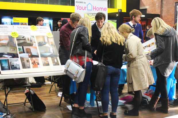 Lincoln SU Housing Fayre
