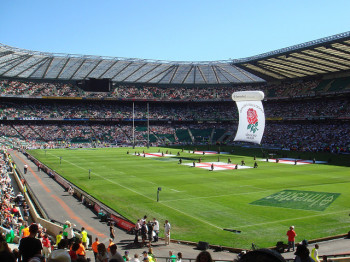England will play Italy, Scotland and France at Twickenham. (Photo via mik_p on Flickr)