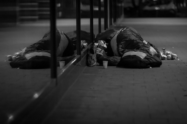 The homeless charity the Nomad Trust appeals for help after its warehouse was robbed. Photo:  Marc Brüneke via Flickr.