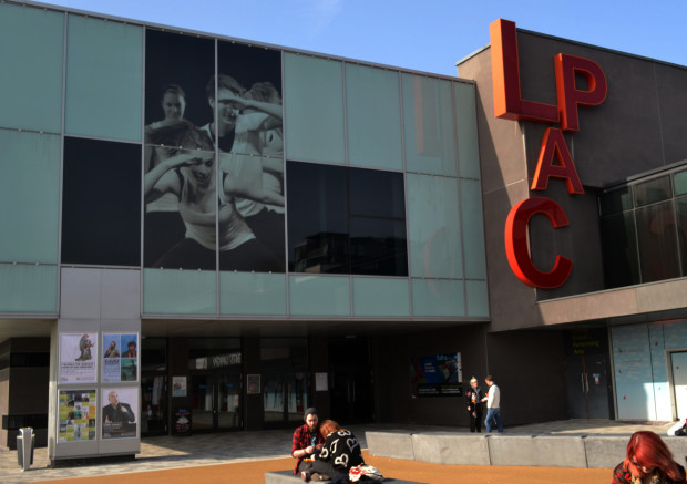 the Lincoln Performing Arts Centre, on the University's Brayford Campus