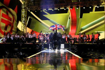 The BRIT Awards 2011 - Rehearsals