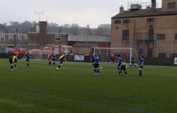 A last minute own goal ensured Lincoln victory