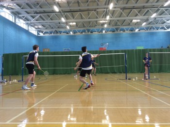 Hull run-away with Badminton victory. Photo: Adam Tomlinson