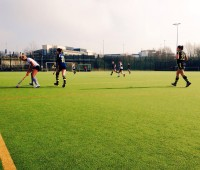The hockey was a mixed bag for Lincoln, with two wins, two draws and two losses