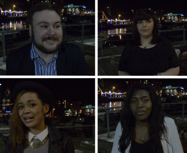 The four SU sabbatical officers for 2015/16