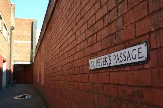 St Peter's Passage, Lincoln (Photo: Gregor Smith)