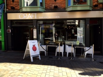 Craft is set to close on October 18. (Picture: Danyal Khan)