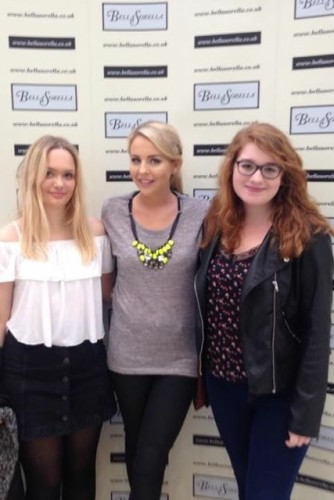 The Linc's style editors with Lydia at the Waterside