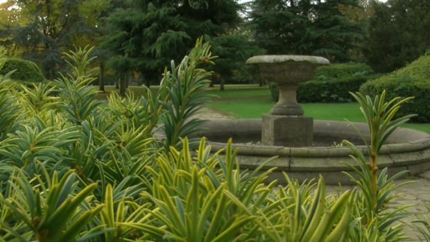 Boultham Park fountain