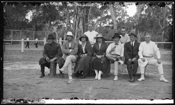 Fashion in a more sporty style became increasingly popular for men. Credit: State Library of South Australia