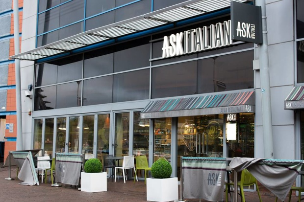 Ask Italian on Brayford Waterfront