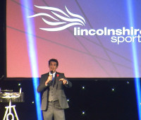 Emma Bristow wins the Lincolnshire Sports Personality of the Year Award. Photo: Adam Tomlinson