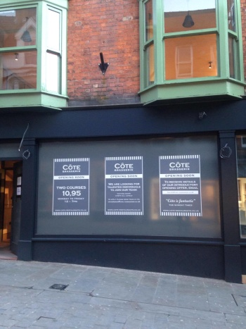 Cote is set to open next month.