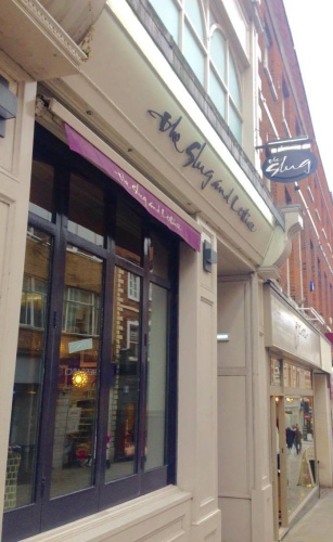 The high street restaurant is closed this week for renovation