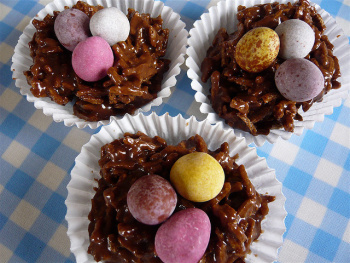 Easter nests really take us back to our school days. Photo: scotproof/Flickr.