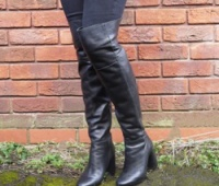 Knee high boots are still as popular as they were at the end of last year. Credit: Emily Braybrooke