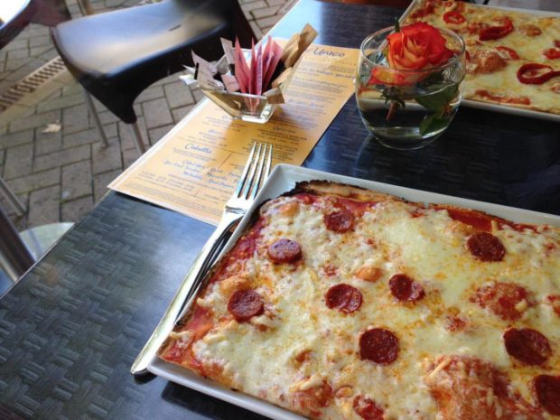 Bar Unico pizzas look and taste delicious! Photo: Andrew Shaw.
