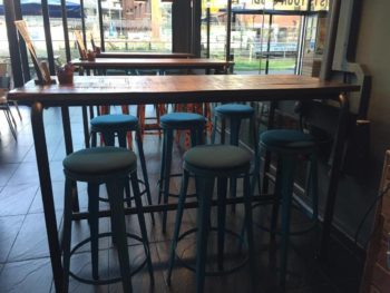 The improved Tower Bar offers new seating as well as a redesigned menu. Photo: Rebecca Speed.