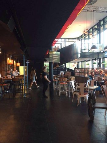The view inside the refurbished Tower Bar. Photo: Rebecca Speed