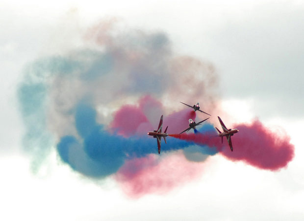 The red arrows are a popular Lincolnshire attraction. Photo: Adrian Snood/ Flickr.