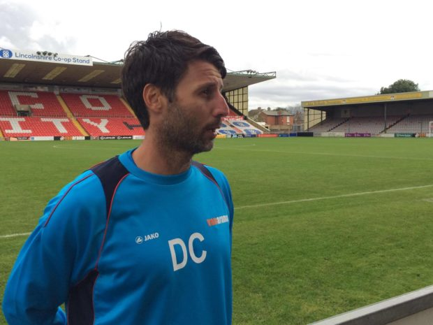 Imps boss Cowley was pleased with his side's return to form on Saturday. (Photo: Ryan Petterson)